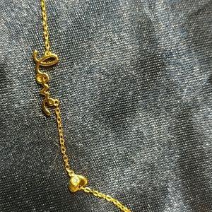 """Designer Sterling Silver """"LOVE"""" Necklace DAMAGE"""